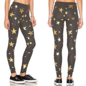 [ Chaser ] Gold Stars Leggings